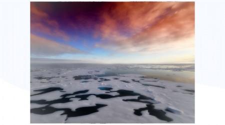 La Antártida y la laguna de Guatavita