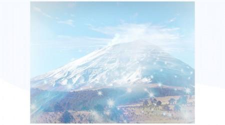 Fenómeno en el volcán Popocatépetl