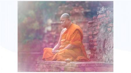 Meditación budista del Tíbet
