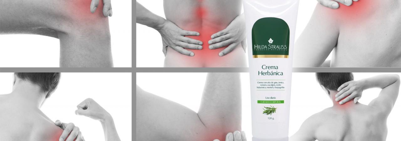 El alivio a dolores musculares