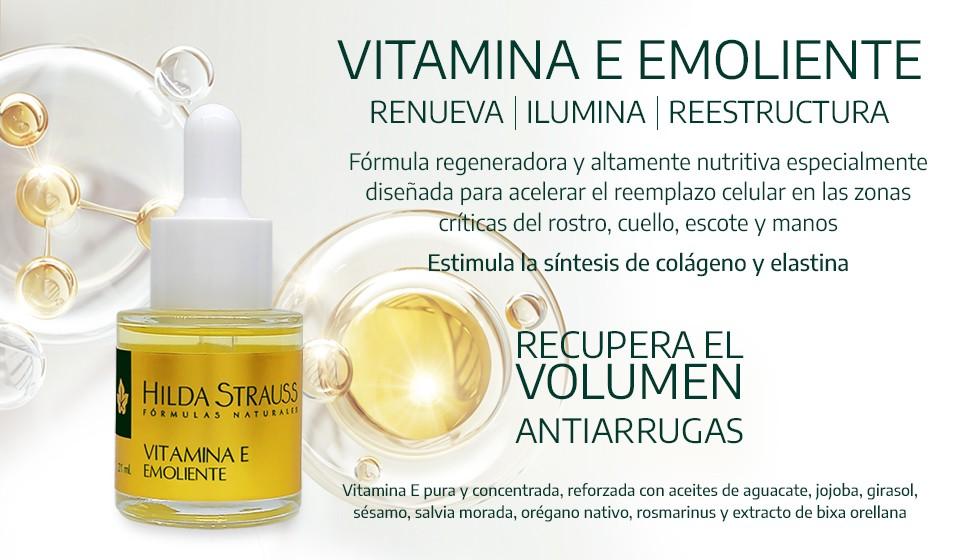 Vitamina E Emoliente